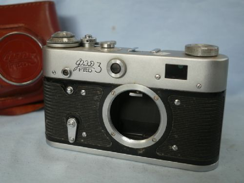 Fed 3 F180 Vintage Rangefinder Camera   £12.99